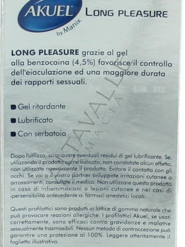 akuel long pleasure  Akuel long pleasure 6 a € 5,40 su Altavalle Farmacia