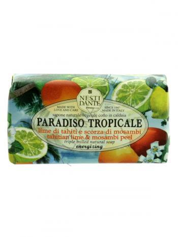 SAPONE PARADISO TROPICALE LIME MOSAMBI