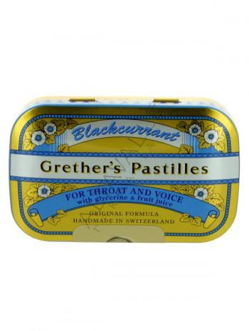GRETHER'S PASTILLES BRACKCURRANT